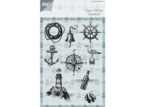 Joy!Crafts und JM Creation Transparent stamp on and at sea