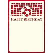 A set of 3 Luxury card layer A6, theme: Footbal