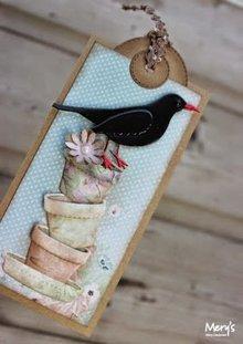 Joy!Crafts und JM Creation Gioia Artigianato, punzonatura - e goffratura modello Springlove: Vasi