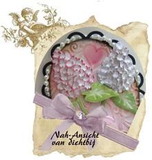 Joy!Crafts und JM Creation Skæring og Embossing stencil blomst stencil Mery, byggeri