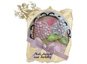 Joy!Crafts und JM Creation Joy Crafts, cutting and embossing stencil Mery stencil flower, building