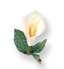 Sizzix Stempling og Embossing stencil, Sizzix thinlits, 3D blomst: Calla Lily