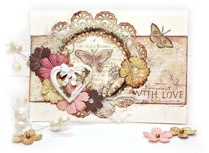 Embellishments / Verzierungen Ornamenter, sommerfugle, Bella Rouge