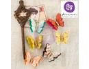 Embellishments / Verzierungen Ornaments, butterflies, Bella Rouge