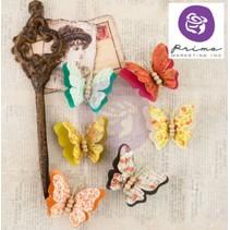 Ornamenter, sommerfugle, Bella Rouge