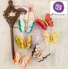 Embellishments / Verzierungen Ornamenti, farfalle, Bella Rouge