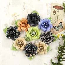Prima Marketing und Petaloo various flowers from Prima Flower, 9 pieces