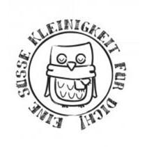 """Holzstempel, deutsche Text, """"Eine Süße Kleinigkeit für dich!"""""""