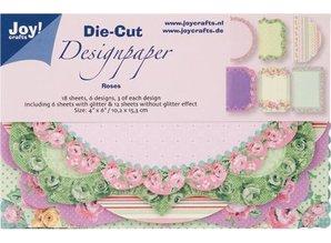 Joy!Crafts und JM Creation Joy! Crafts Die Cut Design Paper Roses