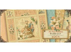 Graphic 45 Graphc 45, Vintage Designer Block, 30,5 x 30,5 cm