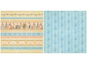 Graphic 45 Graphc 45, Vintage Designersblock, 30,5 x 30,5 cm