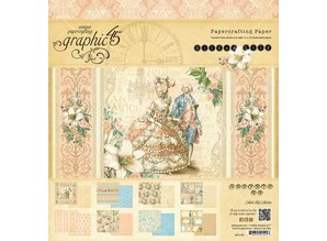 Graphic 45 Graphc 45, Vintage Designersblock, 20,3 x 20,3 cm