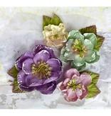 Prima Marketing und Petaloo Stoffer flowers af Prima Marketing, 4 stykker, victorianske