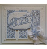 Creative Expressions Stanz- und Prägeschablone, The Festive Collection - Snowflake Mini Striplet