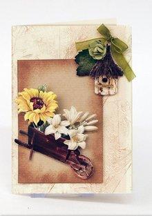 Embellishments / Verzierungen Die foglio singolo con accessori da giardino da cartoncino, A4