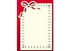 KARTEN und Zubehör / Cards Luxury Kartenaufleger, 3 Stück, 10 x 15cm