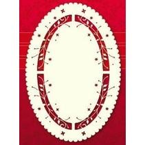 Luxury Kartenaufleger, 3 Stück, 10 x 15cm