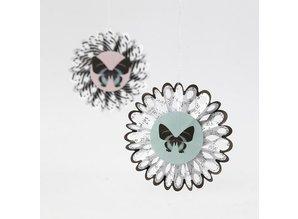 Komplett Sets / Kits Bastelset, rosette, D: 8 cm, 6 pezzi