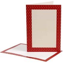 Carta, tarjetas de tamaño tarjeta de 10,5x15 cm