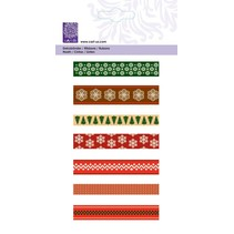 "Schleifenband-Set ""Christmas Scandinavian"", 7x1meter"