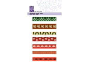 "Cart-Us Ribbon-Set ""Christmas skandinaviske"" 7x1meter"
