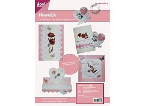 Joy!Crafts und JM Creation Bastelset for designing wedding cards