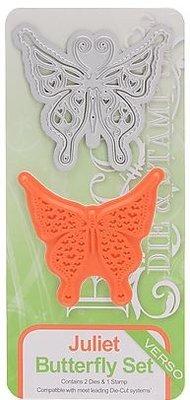 TONIC Stempling og prægning stencil af Tonic, stencil + stempel, sommerfugl Juliet