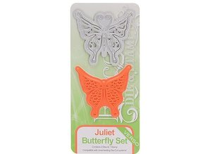 TONIC Stamping and embossing stencil of Tonic, stencil + stamp, butterfly Juliet