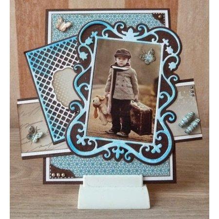 Nellie snellen Decoupage ark A4 - Vintage Boys