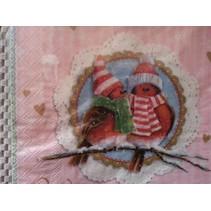 4 designer servietter til decoupage