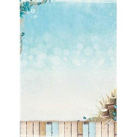 Studio Light A4 Baggrund plader - Summer på stranden