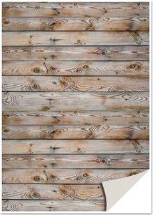 DESIGNER BLÖCKE  / DESIGNER PAPER 5 ark karton med imiteret træ, mur, brunt karton med imiteret træ, væg, brun