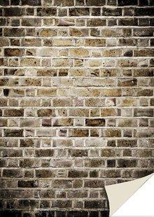 DESIGNER BLÖCKE  / DESIGNER PAPER 5 ark karton med sten look, mur, gamle