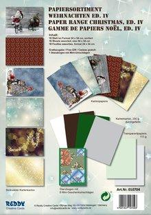 DESIGNER BLÖCKE  / DESIGNER PAPER Card stock Set Christmas