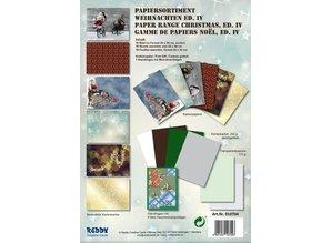 DESIGNER BLÖCKE  / DESIGNER PAPER La cartulina Conjunto de Navidad