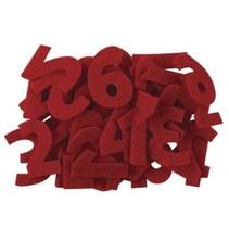 Los números del 1 al 24 en sentido roja