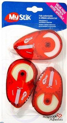 BASTELZUBEHÖR / CRAFT ACCESSORIES Glue Roller + 2 Refillable Glue Roller