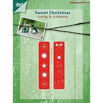 Estampado y Repujado plantilla, decoraciones de Navidad para Kranz (Kh428759-6002 / 2039)