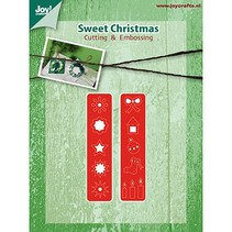 Stamping and Embossing stencil, christmas decorations for Kranz (Kh428759-6002 / 2039)