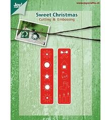 Joy!Crafts und JM Creation Stanz- und Prägeschablone, Weihnachtsschmuck für den Kranz (Kh428759-6002/2039)