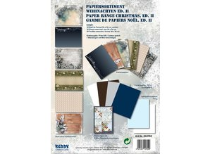 DESIGNER BLÖCKE  / DESIGNER PAPER Karton Set jul