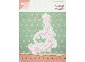 Joy!Crafts und JM Creation Stamping and Embossing stencil, Joy Crafts, Vintage Swirl