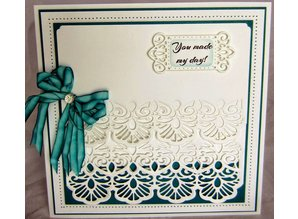 Creative Expressions Punching and embossing stencil The Gemini Collection - Carina