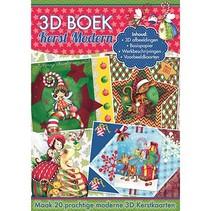 Papel A4: Navidad moderna 3D