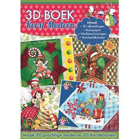 Studio Light A4 Buch: 3D Weihnachten modern