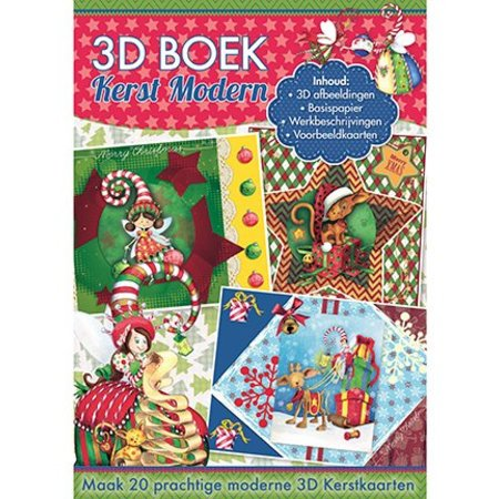 Studio Light A4-papier: 3D Kerst modern