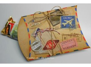Marianne Design Transparent stamps, Eline's Huis Airmail
