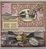 Joy!Crafts und JM Creation Transparente Stempel, Joy, Love Home