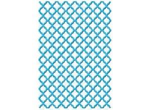 Spellbinders und Rayher Spellbinders Stempling og Embossing stencil, Shapeabilities, gittermønster