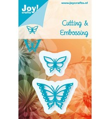 Joy!Crafts und JM Creation Stampaggio e goffratura stencil, Gioia Crafts, Farfalle